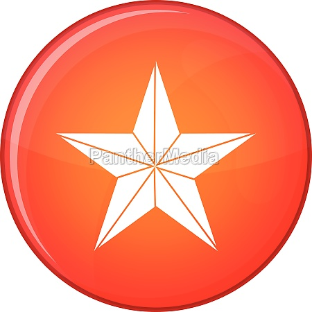 star icon flat style