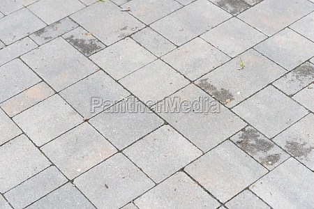 cobblestones as pavement for the street