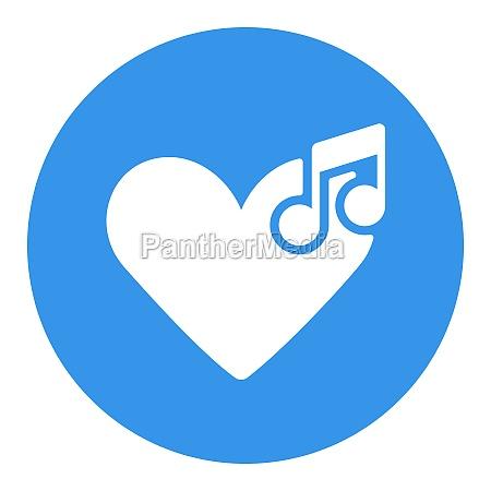 like music vector glyph icon musical
