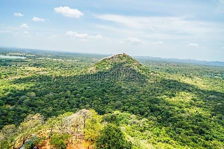 landscape visible from sri lanka sigiriya