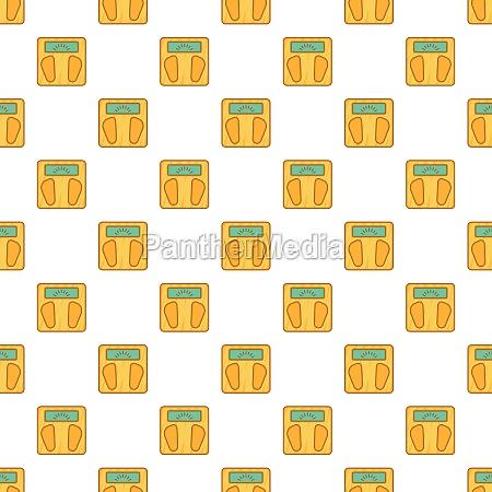 scale pattern cartoon style