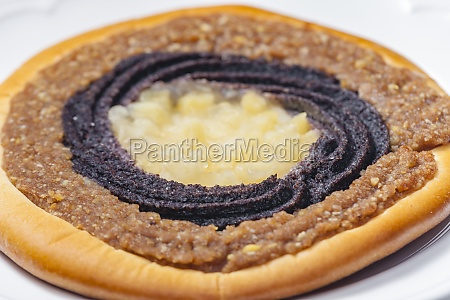 still life of typical czech cake