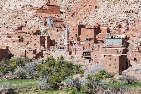 street of the kasbahs
