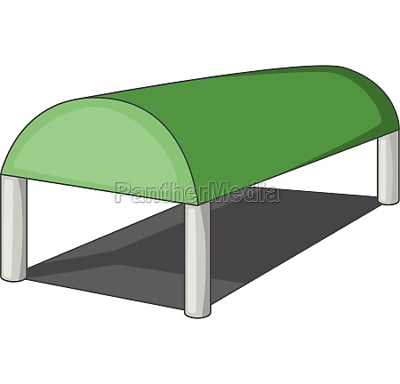 warehouse roof icon cartoon style