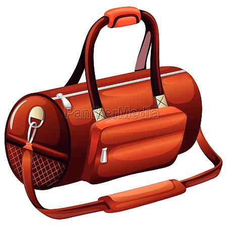 handbag in round shape
