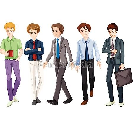 men in suit and tie