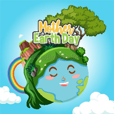 poster design for mother earth day