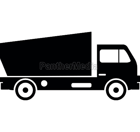 lorry icon simple style