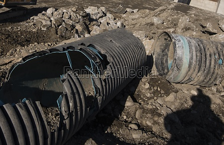 water pipe or tube in hydraulic