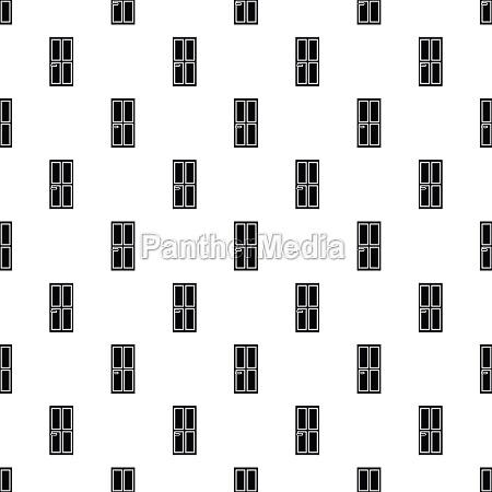 house door pattern simple style