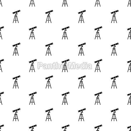 telescope pattern simple style