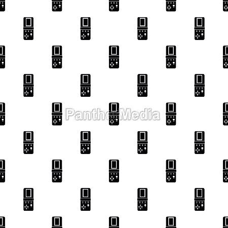 tetris portable game pattern simple style