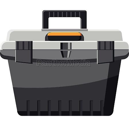 toolbox icon cartoon style