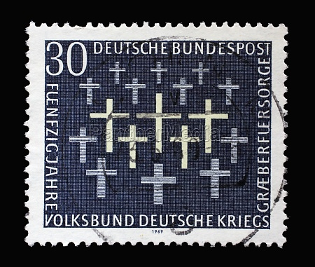 stamp printed in germany showing 50th