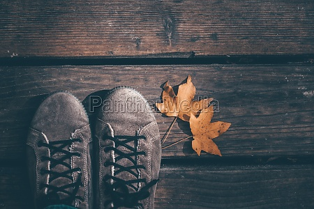 conceptual image of legs in boots