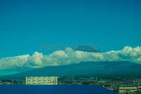 of consuming cloud mount fuji image