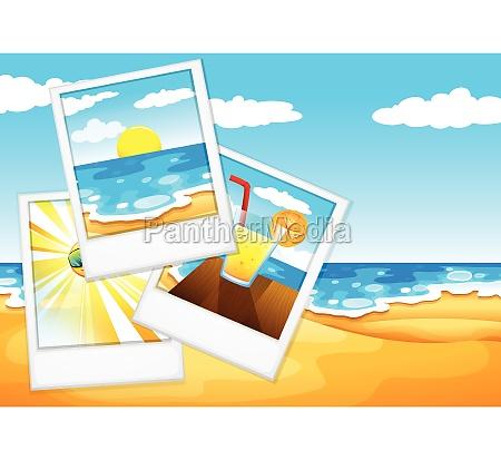 photos at the beach