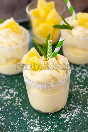 pineapple soft serve
