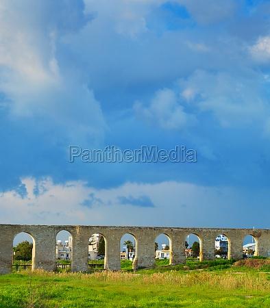 kamares aqueduct site larnaca cyprus