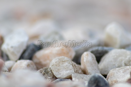 raw rocks and minerals as natural