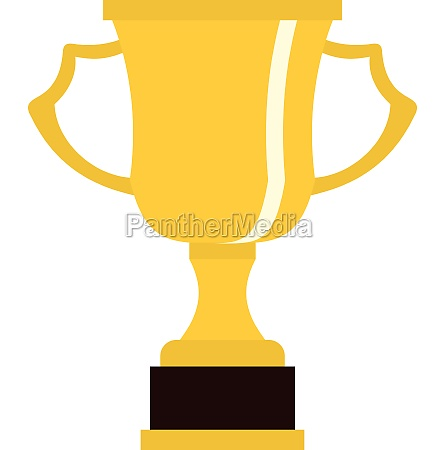 cup for win icon flat style