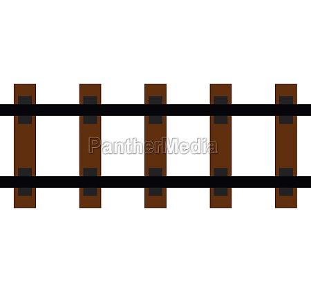 railway icon flat style