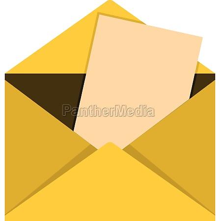 envelope icon flat style