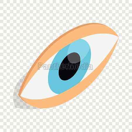eyes isometric icon