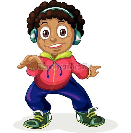 an american african children character