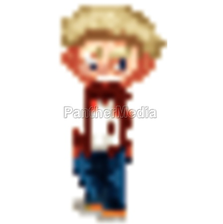 cute happy smiling child isolated on