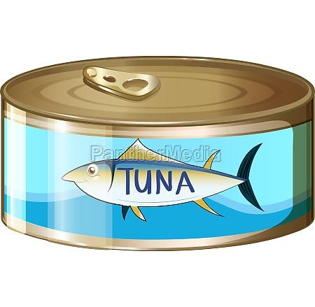 a can of tuna