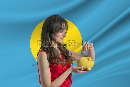economy in palau accumulating and saving
