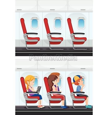 set of plane interior