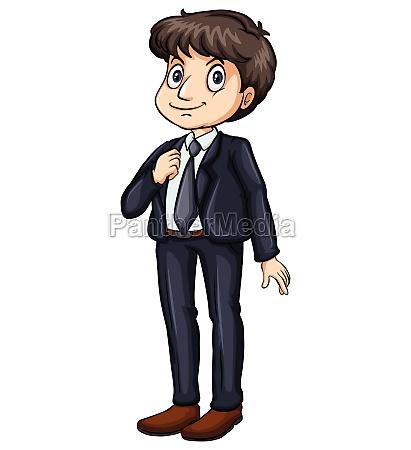 man in a formal attire