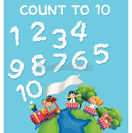 math count cloud number