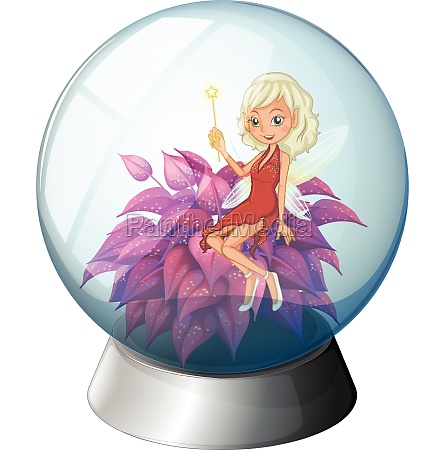 a dome with a fairy