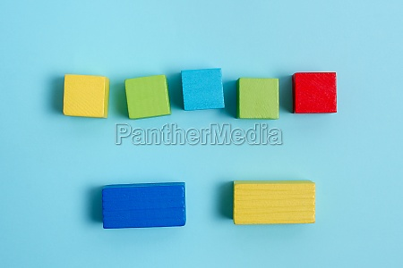 sample cube rectangular boxes polished with