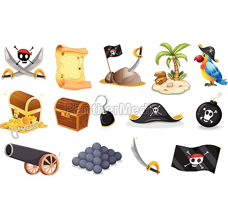 things related to a pirate