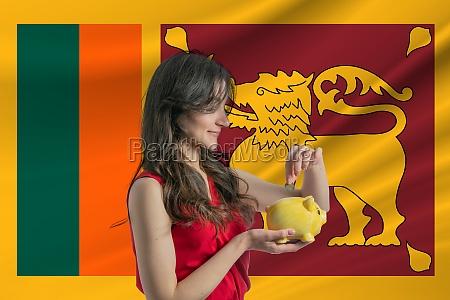 economy in sri lanka accumulating and