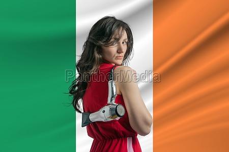 beauty industry in ireland happy female