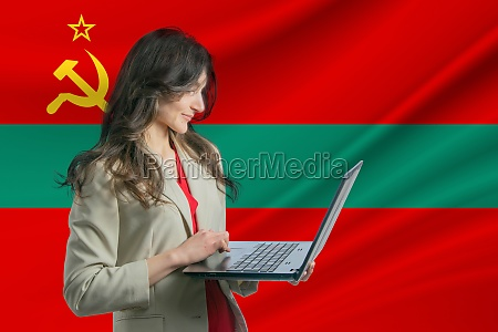 freelance in transnistria beautiful young woman