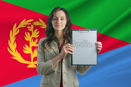 study in eritrea beautiful woman holding