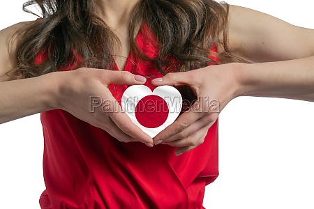 love japan the woman holds a