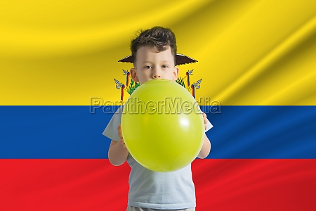 childrens day in ecuador white boy