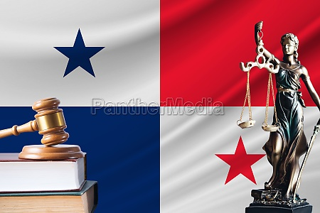 law and justice in panama statue