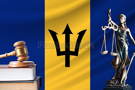law and justice in barbados statue