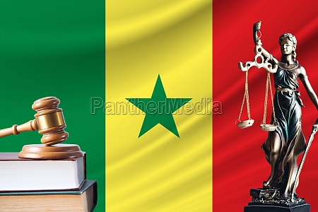 law and justice in senegal statue