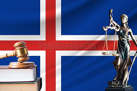 law and justice in iceland statue