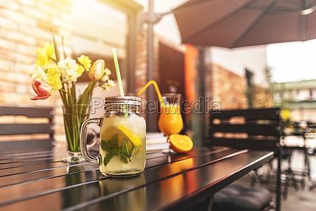 refreshment summer cold drink