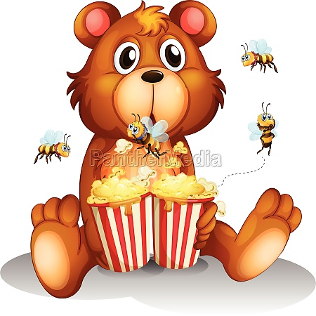 bear and bee